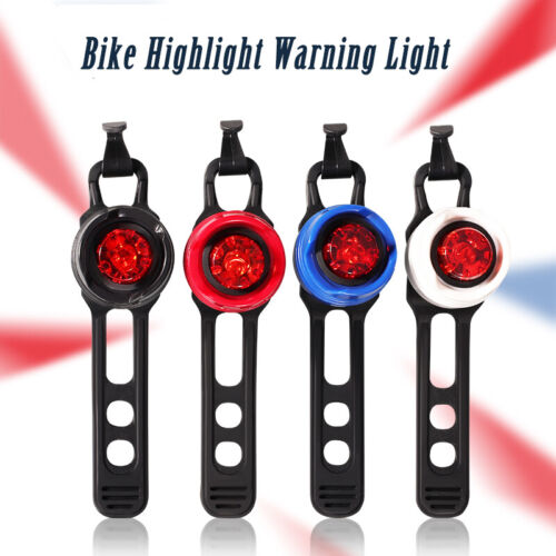 Cycling Bicycle LED Flash Rear Bike Light Tail Warning Safe Back Lamp
