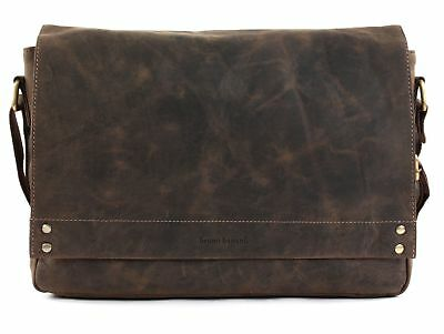 Coraggioso Bruno Banani Crossbody Bag Borsa Per Laptop Borsa A Brown Marrone Nuovo-mostra Il Titolo Originale Design Professionale