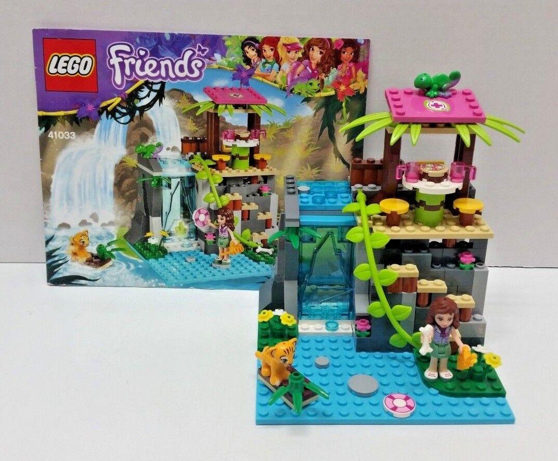 LEGO FRIENDS Jungle Falls Rescue  41033 INSTRUCTIONS 100% Complete TIGER  DR
