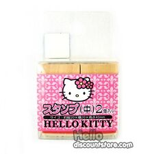 Sanrio Hello Kitty Wooden Rubber Stamp Set Mix 2pcs