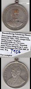 Braunschweig-Calenberg-Hannover-Georg-V-Medaille-auf-seinen-einzigen-Sohn