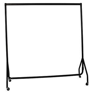 3ft Heavy Duty Garment Rail Hanging Clothes Home Retail Display Storage Stand