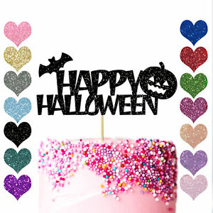 Personalised-Spooky-Ghost-Birthday-Cake-Topper-Happy-Halloween-Party-Decoration