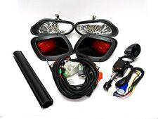 EZGO TXT 2014+ DELUXE STREET LEGAL FULL LED LIGHT KIT w/ LED TAILLIGHTS