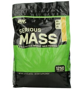 how to drink serious mass gainer