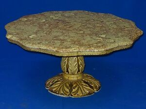 STYLISH-MID-CENTURY-HOLLYWOOD-REGENCY-BILLY-HAINES-ERA-MARBLE-TOP-COFFEE-TABLE
