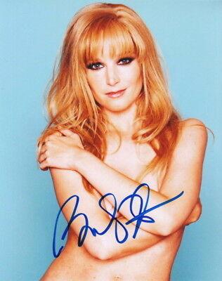 Topless Temptress Signed Bridget Fonda.