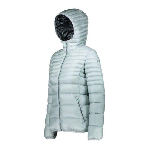 Cmp Doudoune 38k1706 Veste Femmes Women Jacket Fix Hood Veste Matelassée Opal Comme neuf