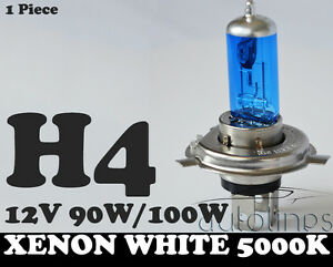 1-x-H4-100W-90W-12V-Xenon-White-5000k-Halogen-Car-Head-Light-Globes-Bulbs-Lamp