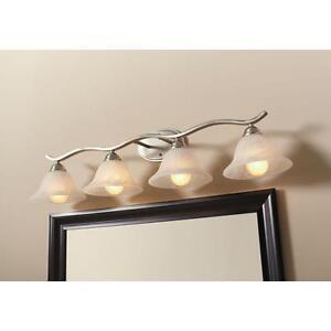 4-light-Vanity-Bar-Bath-room-Traditional-Wall-Lighting-Fixture-Brushed-Nickel