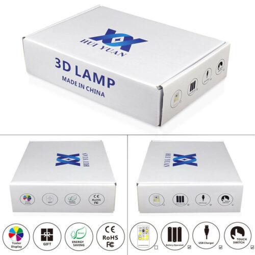 Baum Blatt 3D LED Tischlampe Nachtlicht Nachttischlampe Leselampe Geschenk Farbe