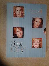 27469//SEX AND THE CITY INTEGRALE SAISON 4 COFFRET  DVD EN TBE