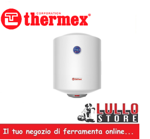 Scaldabagno elettrico scalda acqua verticale lt 30 50 80 litri 1200w thermex ebay - Scaldabagno elettrico 30 litri ...