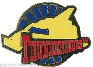 OFFICIAL GERRY ANDERSON THUNDERBIRDS ROUNDEL LIMITED EDITION PIN