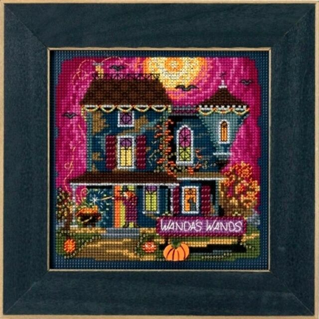 Mill Hill Buttons Beads Counted Cross Stitch Kit ~ WANDA'S WANDS #14-1822