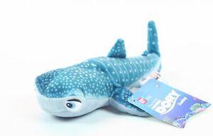 "FINDING DORY plush DESTINY 8"" soft toy whale shark nemo Disney Pixar - NEW!"