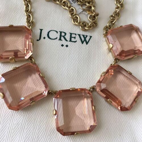 NWT J.Crew  Crystal Cube Necklace • Heather Quartz • $56 • With Dust Bag