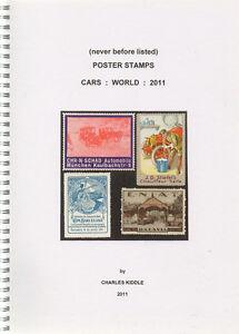 I-B-CK-Cinderella-Catalogue-Poster-Stamps-World-Cars-2011