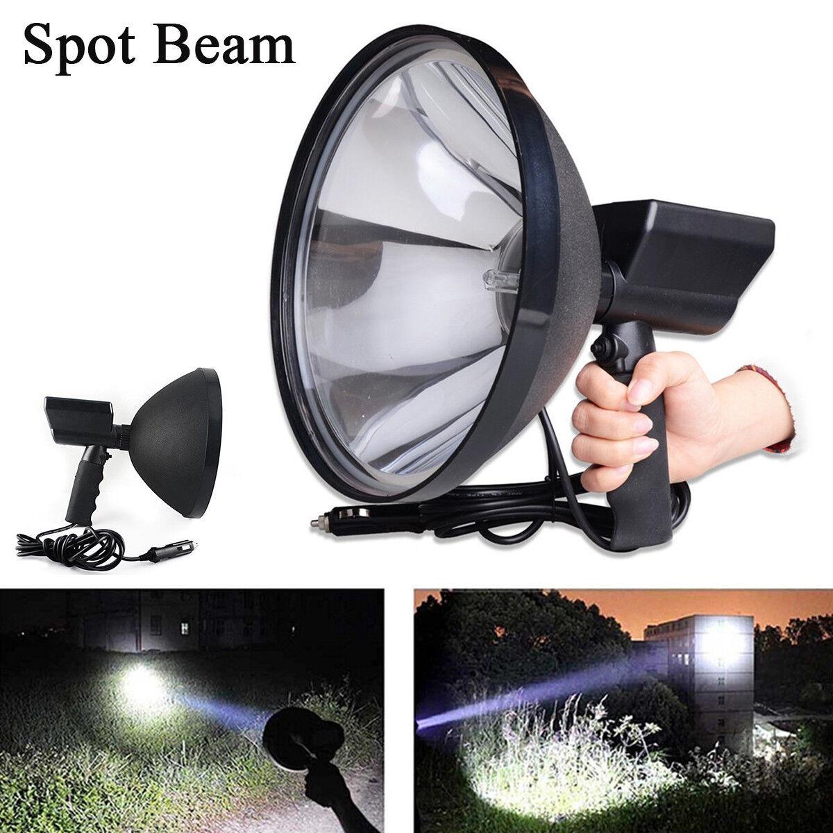 HID 6000K White Spot Beam Portable Handheld Camping Hunting Fishing Xenon Light