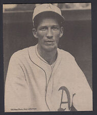 Lefty Grove Philadelphia A's Old Man Mose Vintage 7x8 B/W Magazine Photo