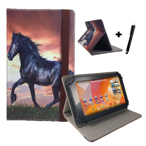 MEDION Lifetab s10346 MD 98992 10.1 Tablet PC Custodia Case-cavallo motivo 10 pollici