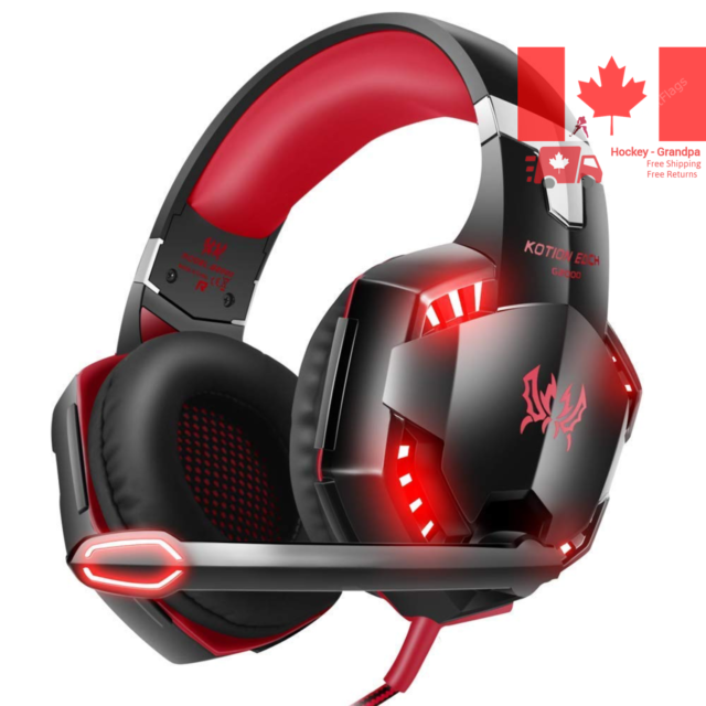 VersionTECH G2000 Gaming Headset for PC PS4 Xbox One Gaming Headphones with N...