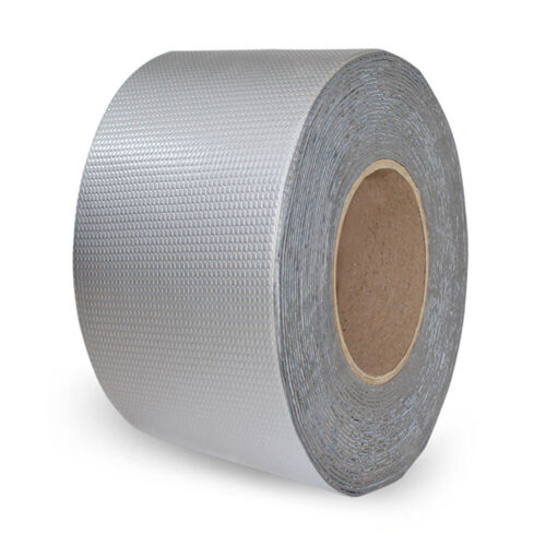 Repair Crack Stop Leak Heat Resistant Butyl Tape Aluminum Foil Duct Tape Sealer