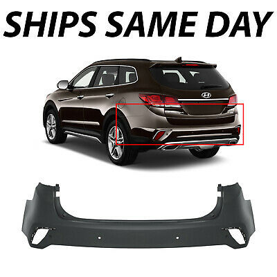 Painted To Match Rear Bumper Replacement for 2016 2017 2018 Chevy Malibu w// Park