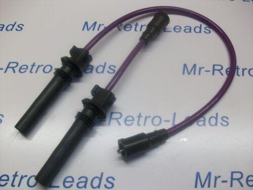 Púrpura 8MM rendimiento ignición leads MG6 1.8i MGF MG TF 120 MG ZR ZS ZT 120 HT