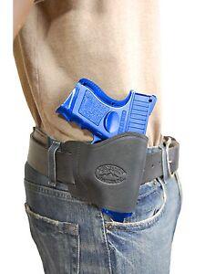 KAHR Compact Sub-Comp 9mm 40 45 Barsony OWB Gun Belt Holster for HK