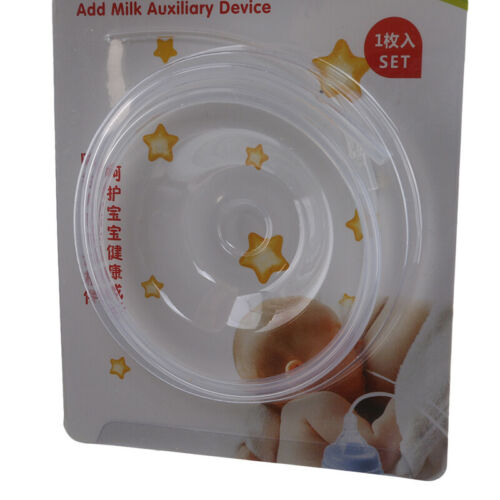 Transparent Clear Weaning Aid feeding straw Less Breast Stage Breastfeeding 8C