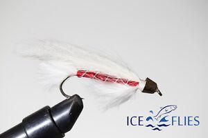 ICE FLIES Boli - 10 3-pack Streamer fly cone head Size 2