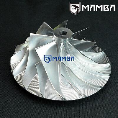 6+6 62.24 // 82.00 mm Turbo Billet Compressor Wheel For Racing Garrett T04E