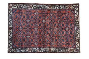 Rugs & Carpets Qualified 3.5x5 Antique Enjelas Rug To Have A Long Historical Standing