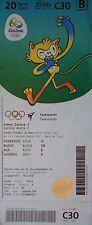 TICKET M 20.8.2016 Olympia Rio Taekwondo # C30