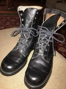 59ffec3e23a4f Vintage PANCO Vietnam War Military Boots Mens Size 9 Dated 1966 BF ...