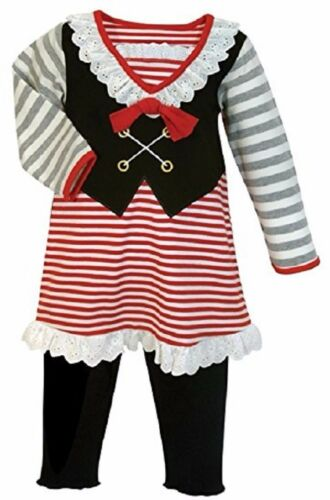 12-18 months NWT Stephan Baby Girl 5 pc Pirate Dress Up pr Halloween Costume