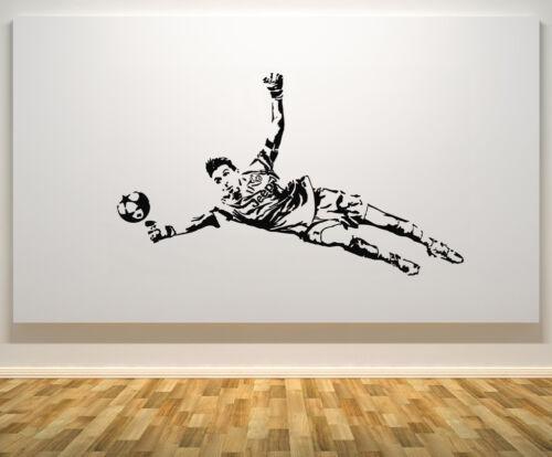 Gianluigi Buffon Italienne Italie gardien football Decal autocollant mural photo