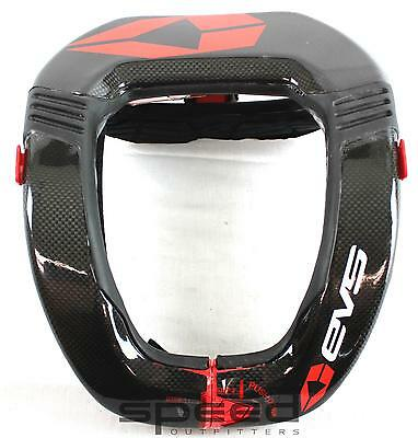 Black//One Size EVS RC4 Adult Race Collar Dirt Bike Motorcycle Body Armor