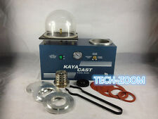 Jewelry Lost Wax Cast Combination Vacuum Investing Casting Investment Machine US