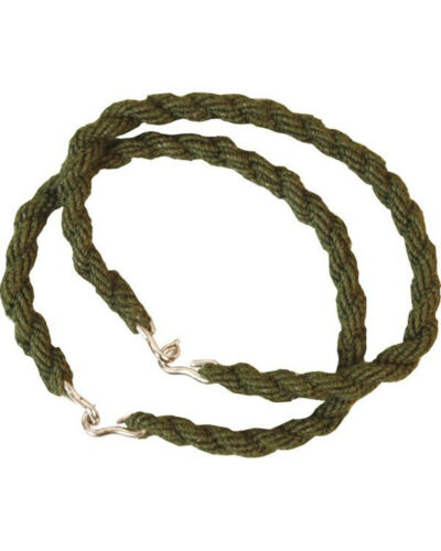 5 Pairs of Olive Army Trouser Twists Military Cadet Twisters Elastic Leg Ties