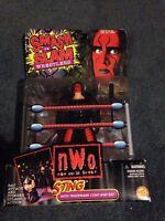 Wcw/nwo Sting Wolfpack Vintage Smash N Slam Figure