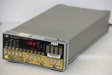 Hp Hewlett Packard 8116a Pulse Function Generator 50mhz