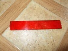 Nos Vintage Arctic Cat Snowmobile Snap In RED Reflector 0106-345 Panther Kitty