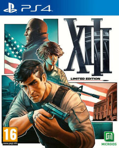 XIII (13) Limited Edition Steelbook Jeu Playstation 4 PS4 Neuf PAL FR