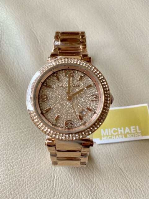 Michael kors mk6511 womens rose gold and crystal darcy watch ebay michael kors womens mk6511 rose gold watch gumiabroncs Gallery