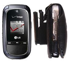 vx8360 LG Holster phone 8360 Cell Leather flip Belt clip skin Case holder