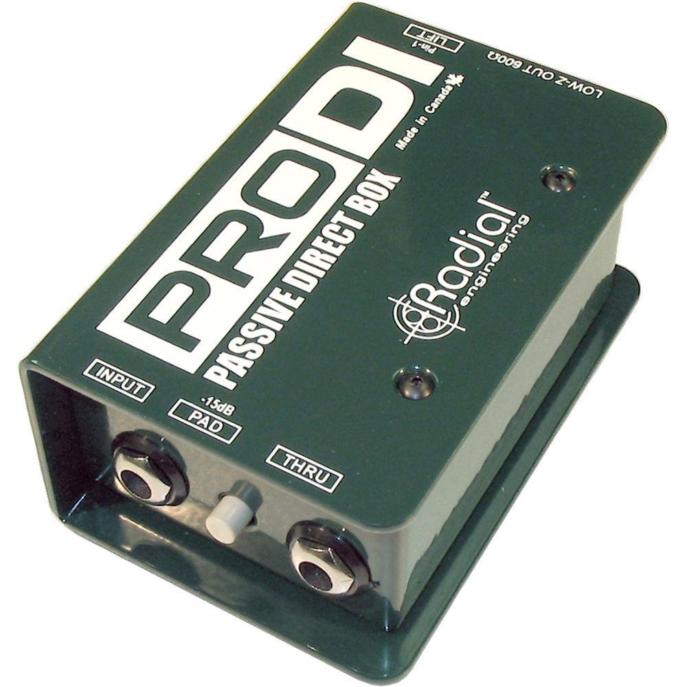 Radial ProDI Passive Direct Box PRO DI Pro-DI PERFECT