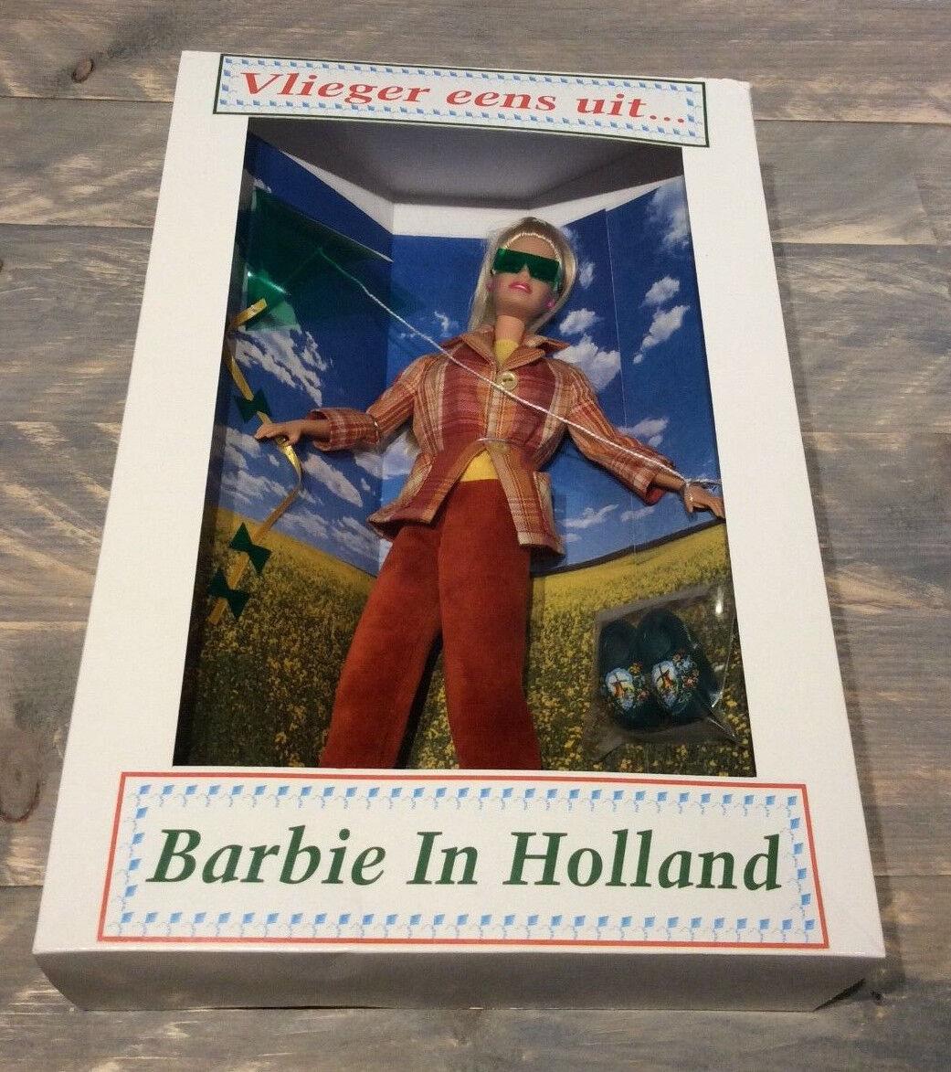 Barbie in Holland doll NRFB 2003 Dutch convention Vlieger eens uit Kite Fliegening