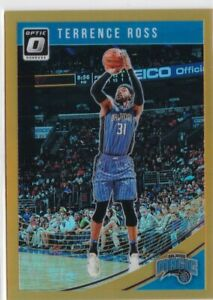 Terrence-Ross-2018-19-Donruss-Optic-Basketball-Cartes-a-Collectionner-Orange